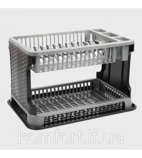 Сушка для посуды Tuffex Rattan TP-7071-2 #PO