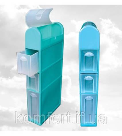 Шкаф для ванной комнаты К5-1 Белого цвета, фото 2