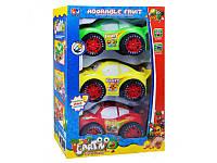 Набор детских машинок Fruit 388-12 C