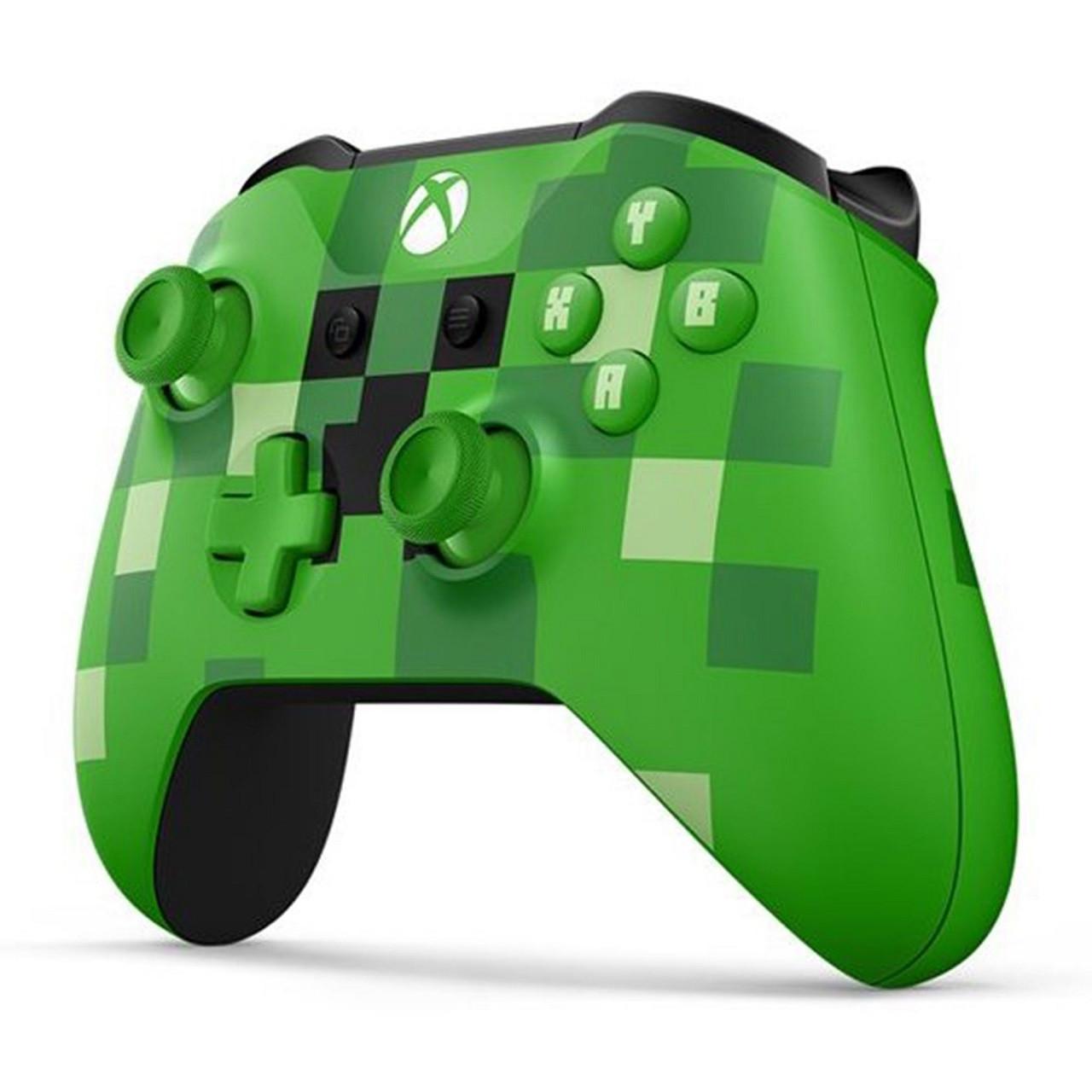 Microsoft Xbox ONE S Wireless Controller Minecraft Creeper Геймпад Безпровідний Маніпулятор
