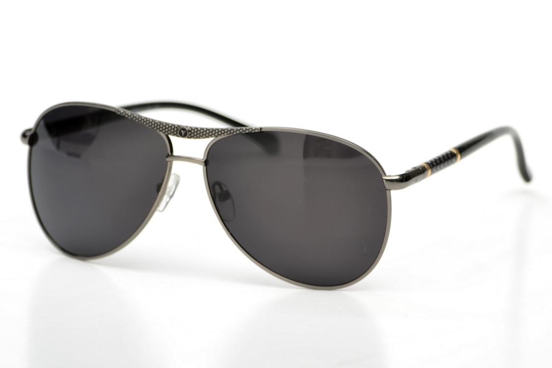 Мужские брендовые очки Mercedes с поляризацией 13020gr - 146381