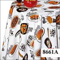 Клеенка (8661A) силиконовая, без основы, рулон. Китай. 1,37м/30м