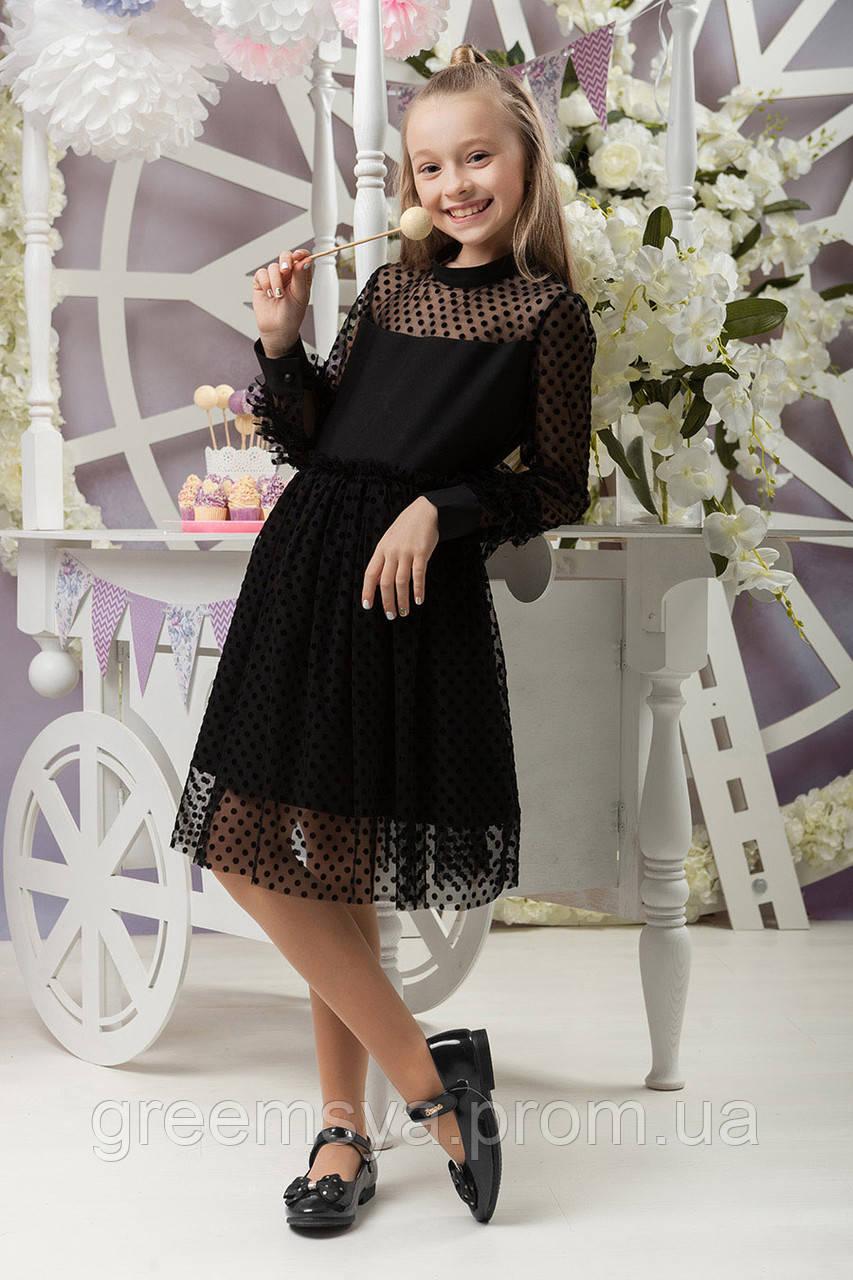 e5f0c0650b8 Платье для девочки с сеткой