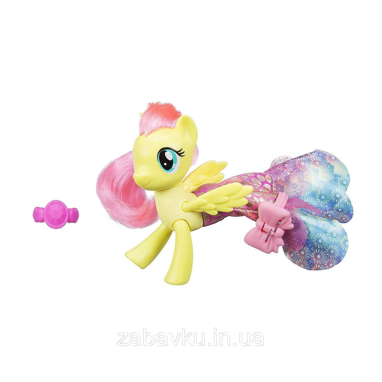 Флатершай Русалочка My Little Pony The Movie Fluttershy Land & Sea Fashion