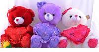 Плюшевый мишка №2119-2,мягкие медведи,подарки для любимых девушек,отличные подарки