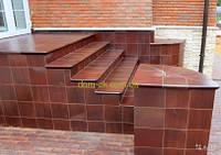 Клинкерные ступени GRESMANC Toletum Riansares размер 299х330х32 мм Esquina угловая ступень