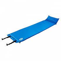 Самонадувающийся коврик Nils Camp 183 x 53 x 2.5 см Blue
