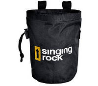 Магнезница Chalk bag Large black Singing Rock