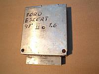 Блок управления ЭБУ мотором Форд Эскорт FORD ESCORT  91AB-12A650-DA, 1ADA