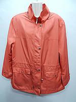 Куртка - ветровка женская легкая FASHION р. 58-60 060GK