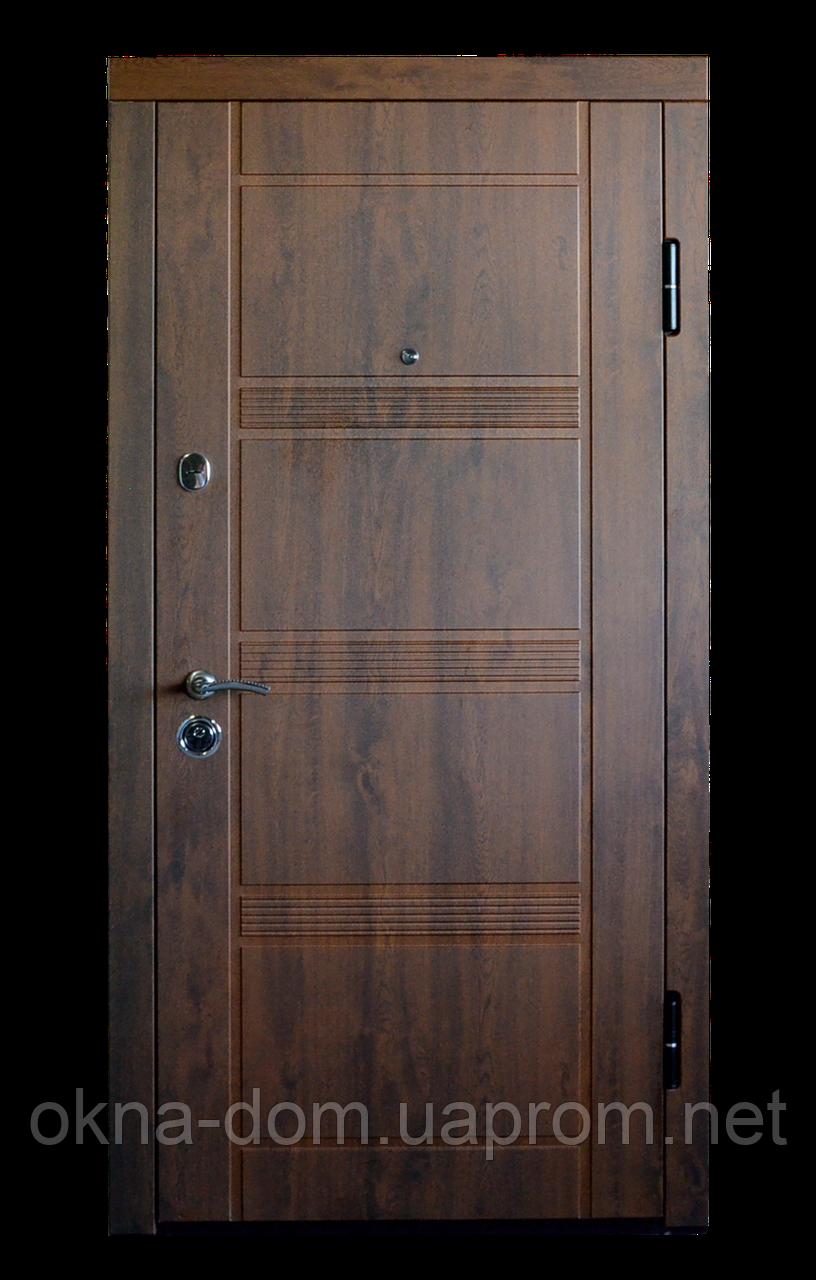 """Входная дверь """"МИНИСТЕРСТВО ДВЕРЕЙ"""" ПК-29+ V  Дуб темный Vinorit"""
