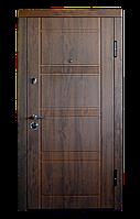 """Вхідні двері """"МІНІСТЕРСТВО ДВЕРЕЙ"""" ПК-29+ V Дуб темний Vinorit"""
