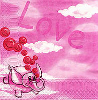 Салфетка декупажная Любовь 3