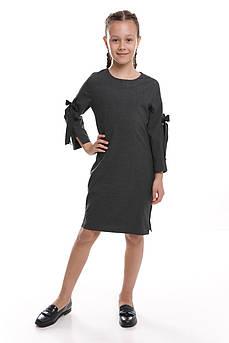 Платье детское  Татьяна Филатова модель 237  серое