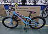 """Велосипед 2-х кол. Azimut Forest G-FR/D 24"""" красно-черный противоударные обода, фото 7"""