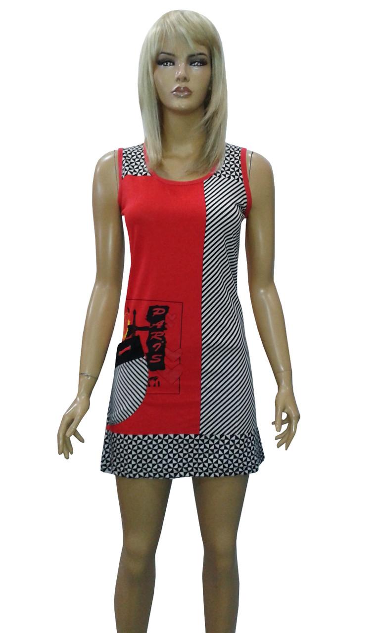 Туника-платье (трикотажная) летняя. Производитель Турция. Фирма WILD LOVE