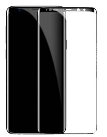 Защитное стекло ColorWay для Samsung Galaxy S8 G950 3D 9H Черные рамки, фото 2