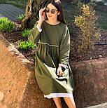 Женское платье лён свободного кроя  (в расцветках), фото 5