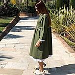 Женское платье лён свободного кроя  (в расцветках), фото 6