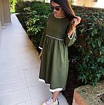Женское платье лён свободного кроя  (в расцветках), фото 7