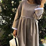 Женское платье лён свободного кроя  (в расцветках), фото 8
