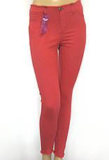Жіночі  джинси з високою талією і необробленим поясом, фото 3