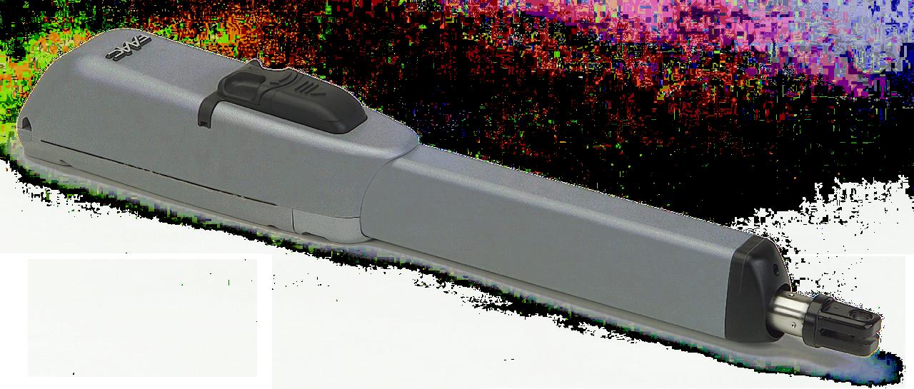 Привод FAAC 415 L LS 24В для распашных ворот со створкой от 3 до 4 м с электромех. конц.