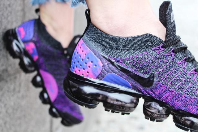 online retailer a546b 89159 Кроссовки женские Nike Vapormax Flyknit 2 Night Purple ...