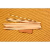 Бамбуковые палочки для шашлыка 30 сантиметров (100 штук)