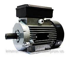 Однофазный электродвигатель АИ1Е 80 А2 (1.1 кВт, 3000 об/мин)