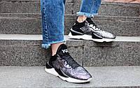 Кроссовки женские Adidas Y-3 Kaiwa Chunky Sneakers by Yohji Yamamoto / NKR-1659 (Реплика)