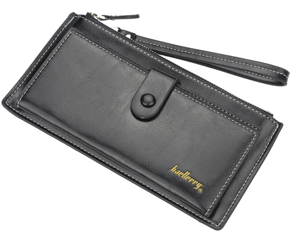 Жіночий гаманець BAELLERRY Fashion портмоне Чорний (SUN4048)