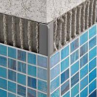 Профиль алюминиевый для плитки наружный, Мерседес- 3м.
