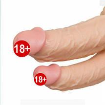 Фаллоимитатор двойной VIKING Cock на присоске для двойного проникновения, фото 2