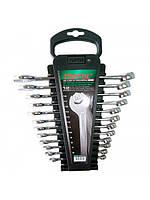 Набор ключей комбинированных Toptul на холдере 12 ед. 6-19 мм GAAC1201