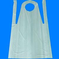 Фартук прозрачный, полиэтиленовый, одноразовый 125х80 см (50 штук)