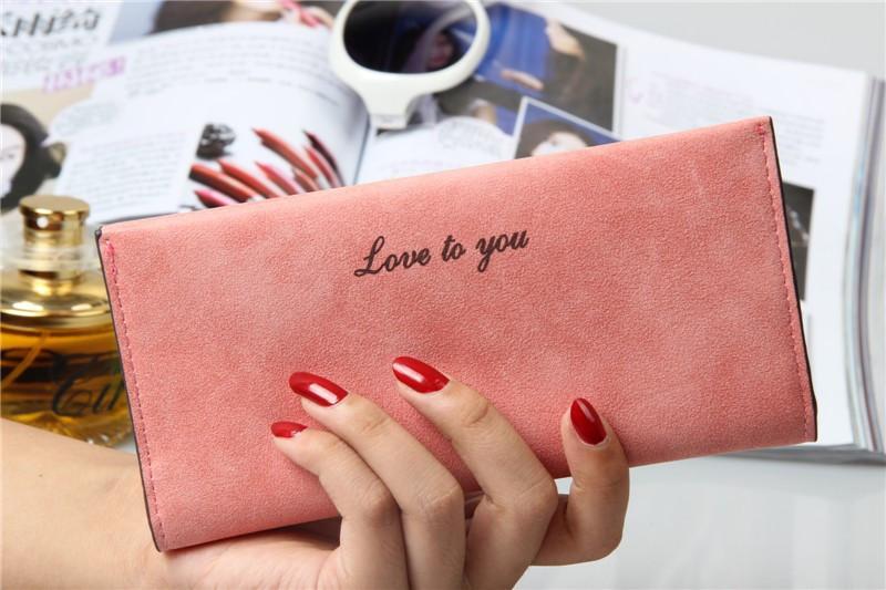 Кошелек - визитница Love to you