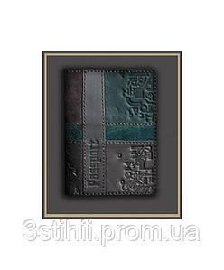 Обложка для паспорта кожаная 809-52-07