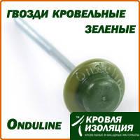 Ондулин (Onduline) гвозди кровельные, зеленые
