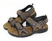 Спортивные мужские сандалии на липучках