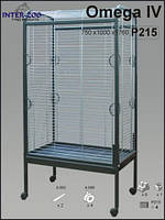 Клетка-вольер для средних и больших попугаев InterZoo Омега 4