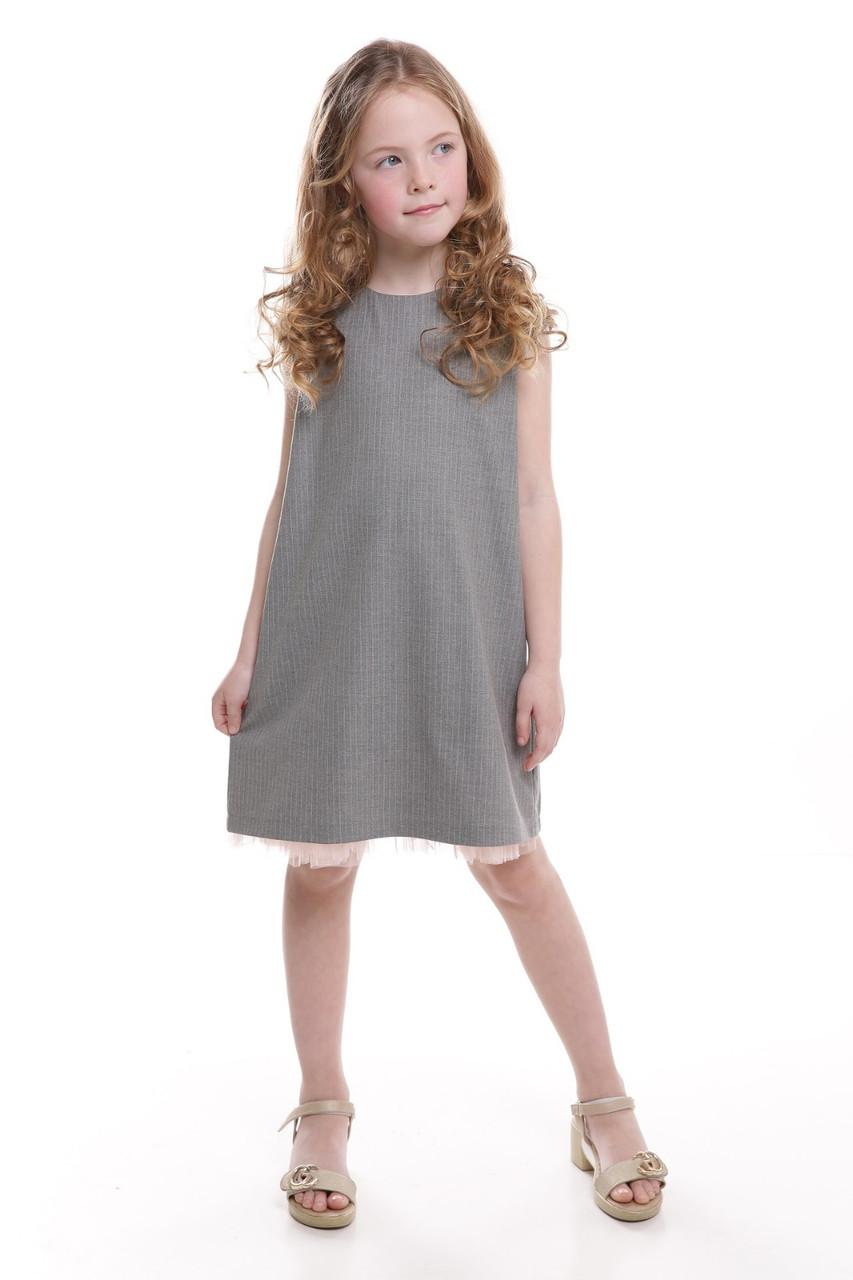 Платье детское Татьяна Филатова модель 254 фатин полоска