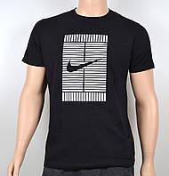 Мужская футболка Nike 100% х/б 1905 Черный, фото 1