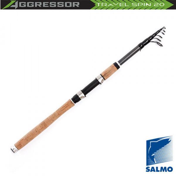 Спиннинг телескопический Salmo Aggressor TRAVEL SPIN 20 5-20/2.40