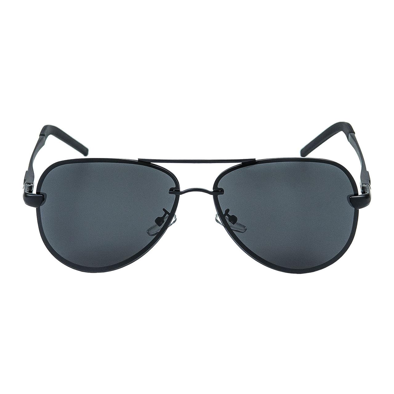 Мужские Солнцезащитные Очки Авиаторы (SG-0761) Черные