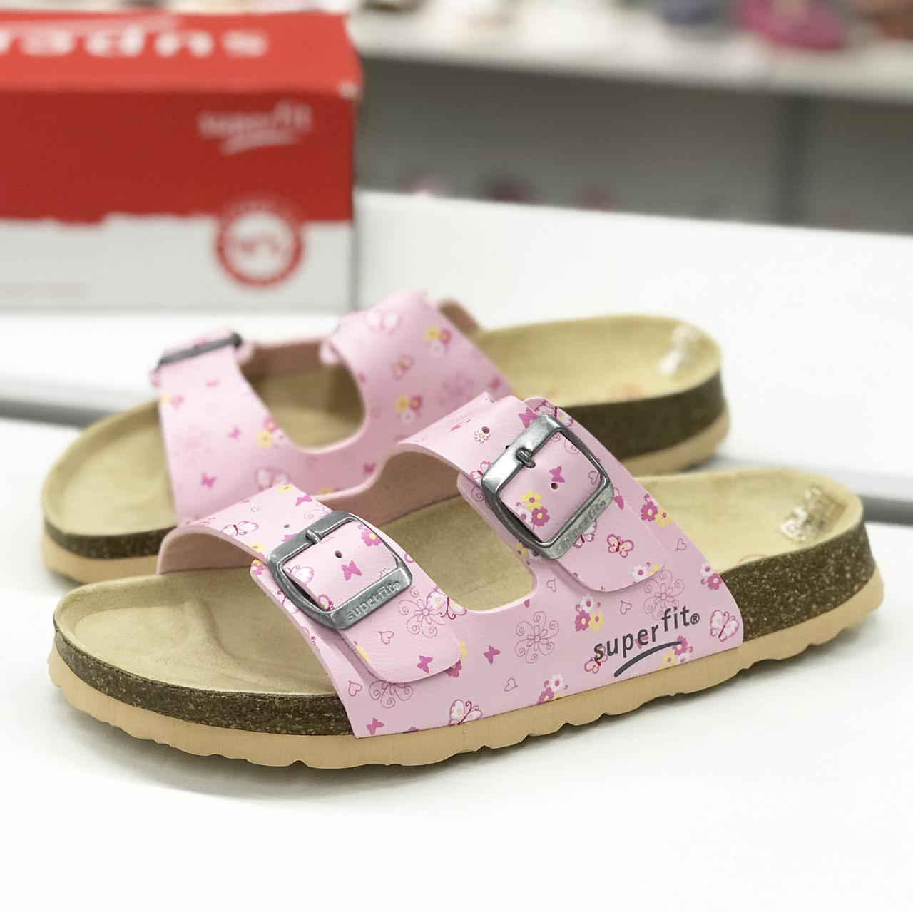 c55c06fdd Легкие босоножки на корковой подошке Superfit (Австрия) р 37, детская  летняя обувь -