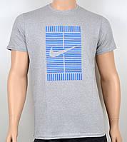 Мужская футболка Nike 100% х/б 1905 меланж