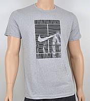 Мужская футболка Nike 100% х/б 1905 меланж2, фото 1