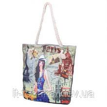Женская пляжная тканевая сумка eterno (ЭТЕРНО) det1808-7