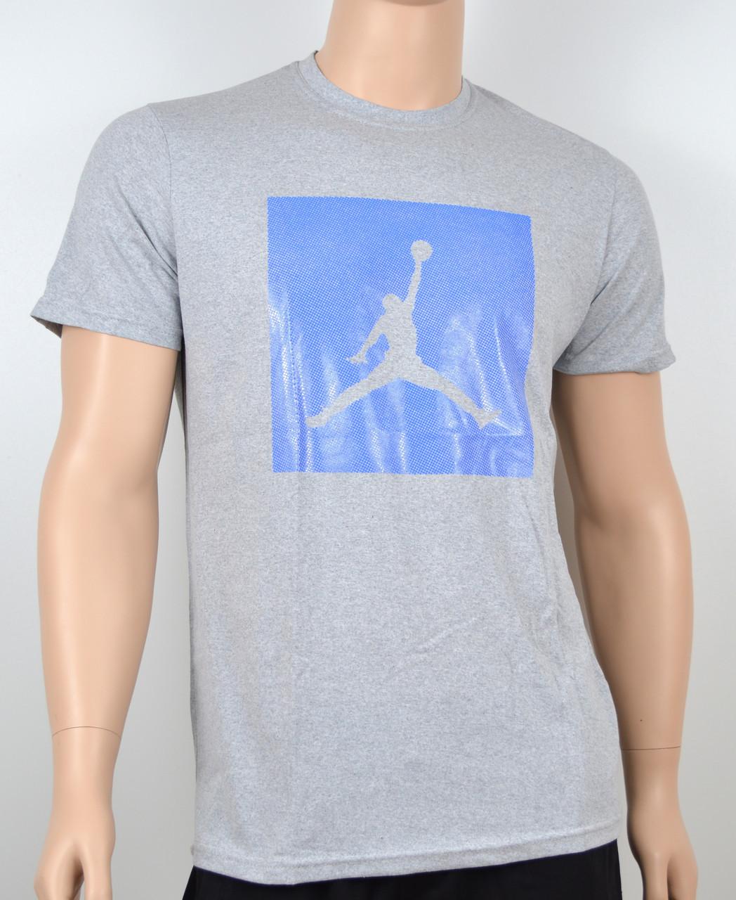 Мужская футболка Jordan 100% х/б 1905 меланж